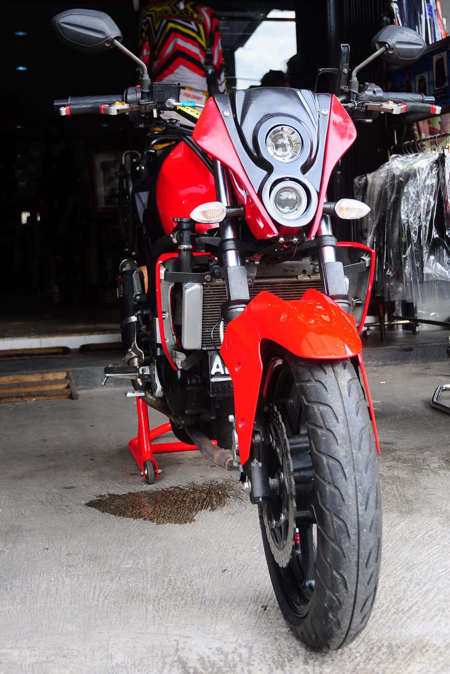 Kumpulan Gambar Modifikasi Motor Bison Menjadi Ninja Modifikasi Motor
