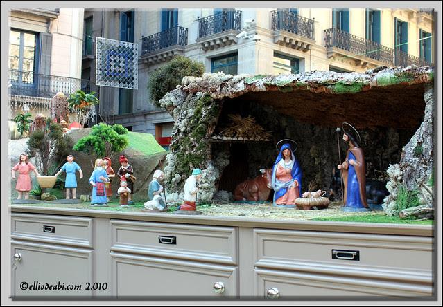 Nacimiento de la Plaza San Jaume