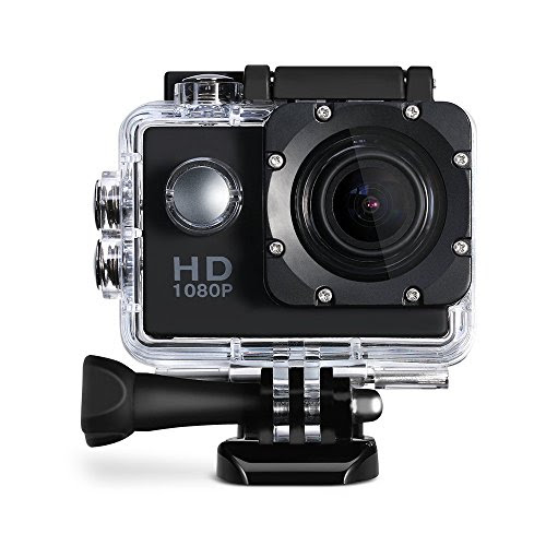 Cymas Full Hd 1080p 20 Inch Sports Action Camera With 16