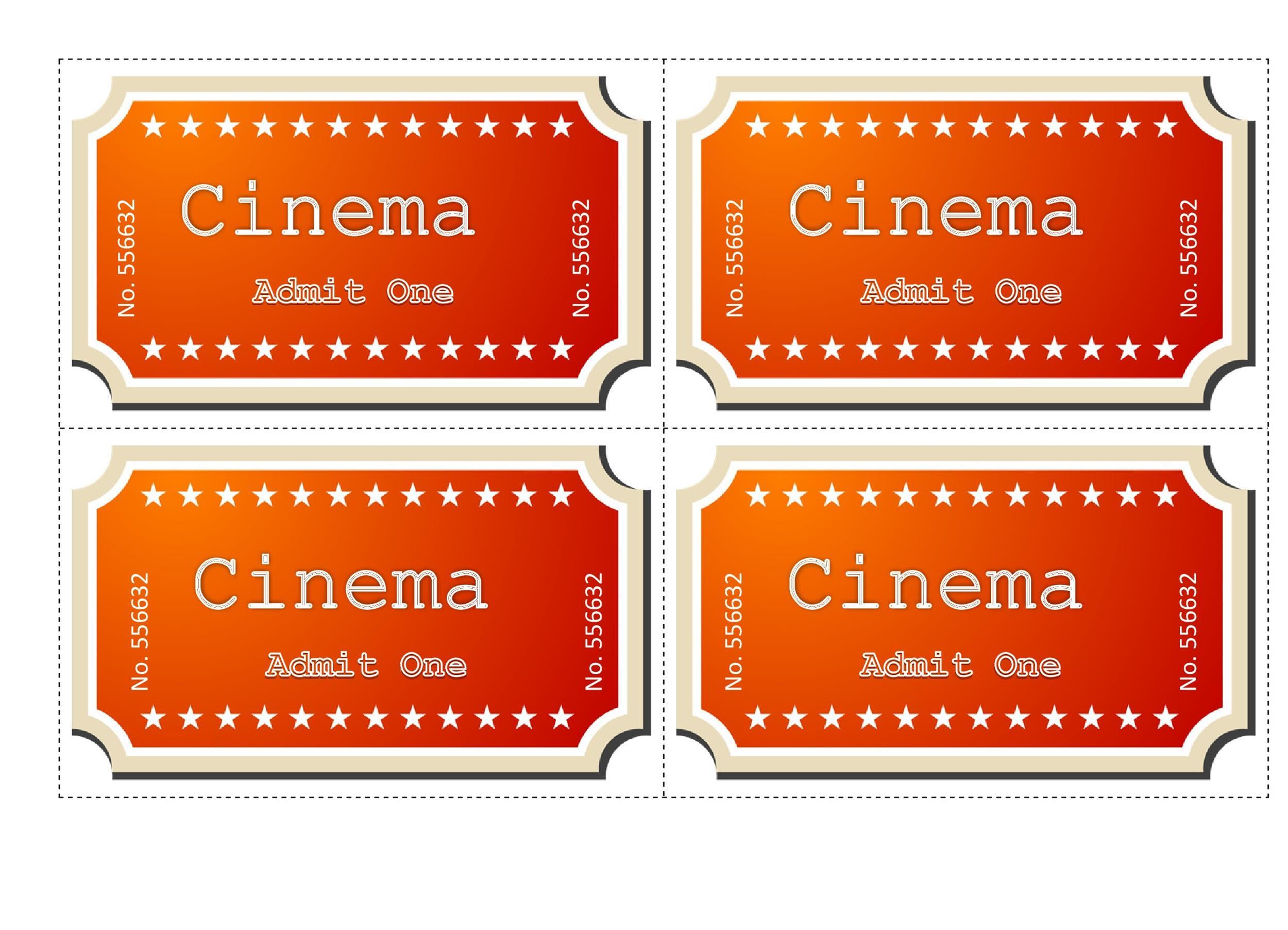 Movie Tickets Template Zona Ilmu 4