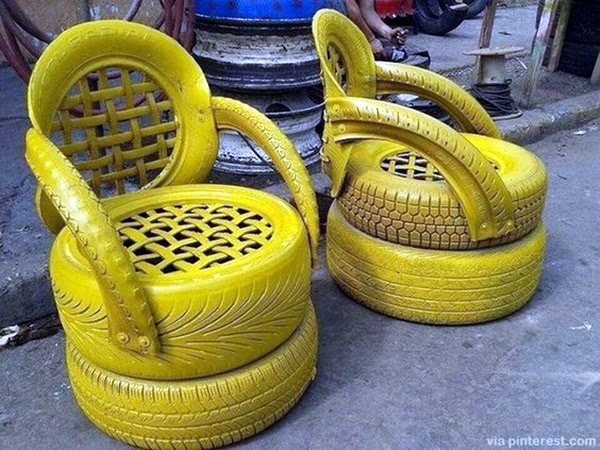 Smart Ways to Use Old Tires (38)