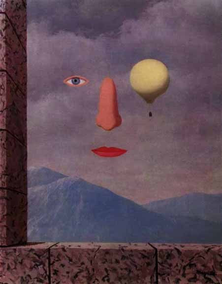 The age of enlightenment, 1967 Rene Magritte