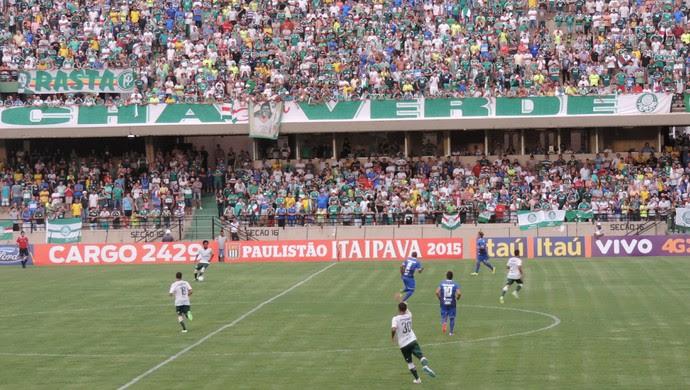 São Bento x Palmeiras (Foto: Emilio Botta/GloboEsporte.com)