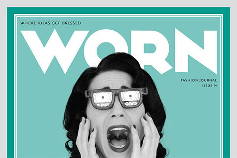 Issue No. 14, worn magazine, independent magazine, fashion journal, canada, wornette
