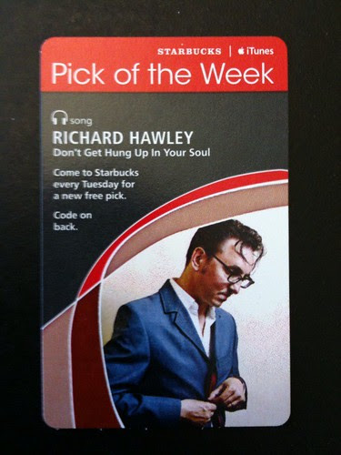 @Starbucks iTunes Pick of the Week - Richard Hawley - Don't Get Hung Up In Your Soul #fb