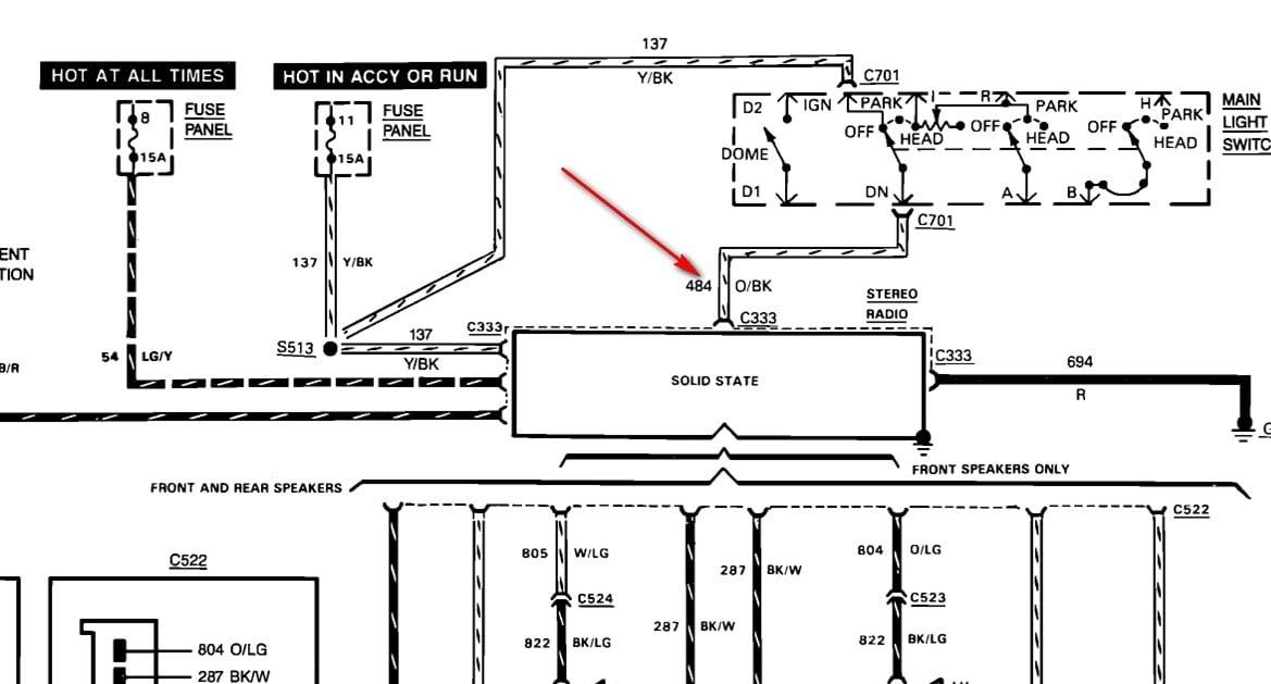 1989 Bronco Wiring Diagram