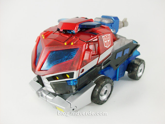 Transformers Wingblade Optimus Prime Animated Takara - modo alterno