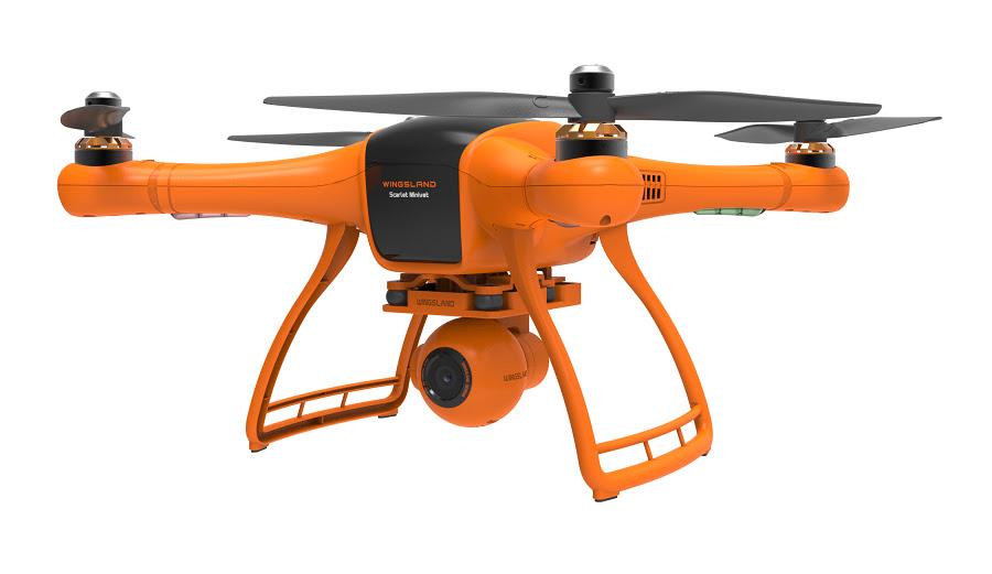 Wingsland Scarlet Minivet FPV Quadcopter