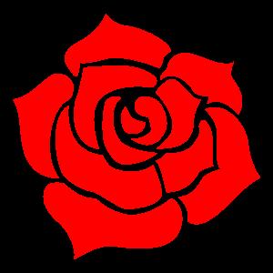 バラの花素材2 花植物イラスト Flode Illustration フロデイラスト