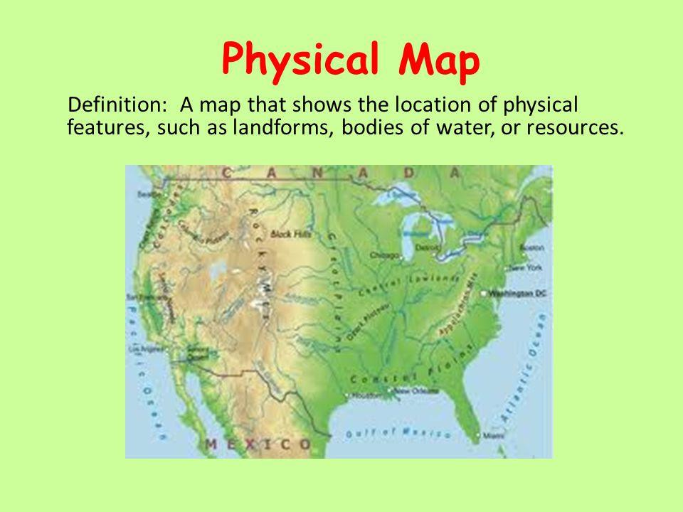 Define Physical Map Define Physical Map | Color 2018