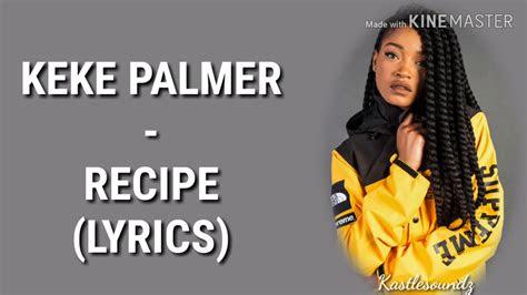 star recipe feat keke palmer lyrics youtube