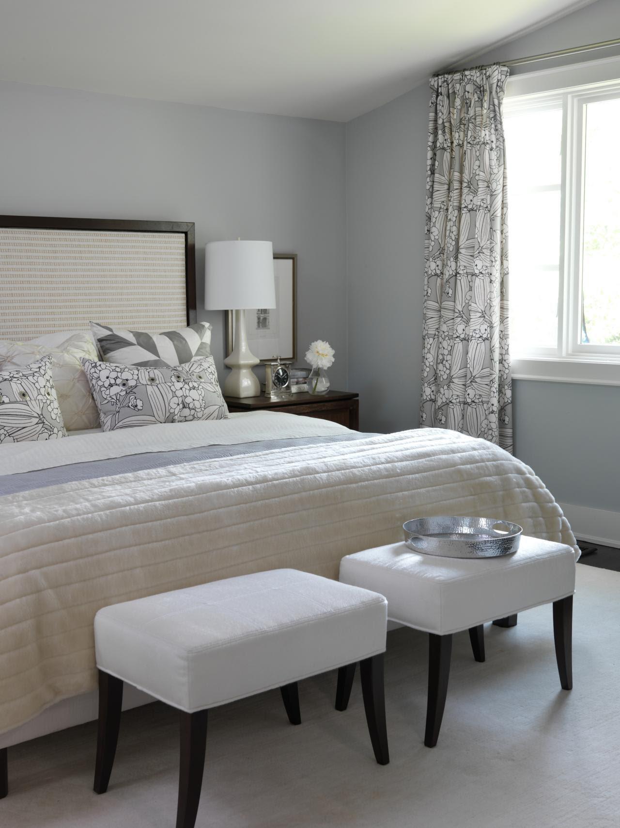 Stylish, Sexy Bedrooms  Bedrooms  Bedroom Decorating Ideas  HGTV