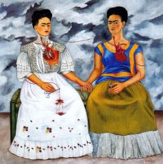 Le Due Frida by Frida Kahlo (New Realism in Mexico)