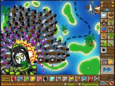 Black And Gold Games: Bloons Tower Defense 5 Sandbox Mode ...