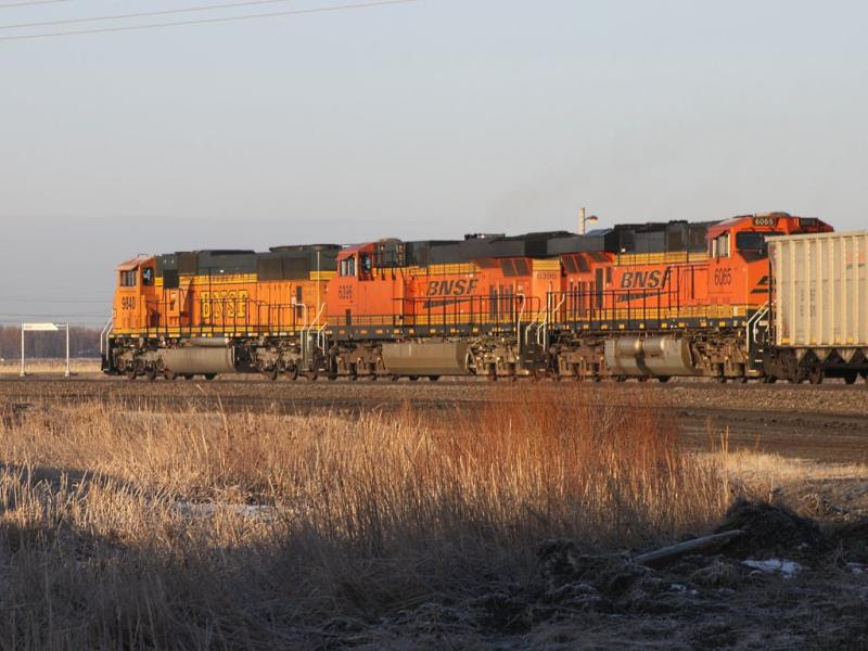 BNSF 9840 6396 6065 in Grand Forks