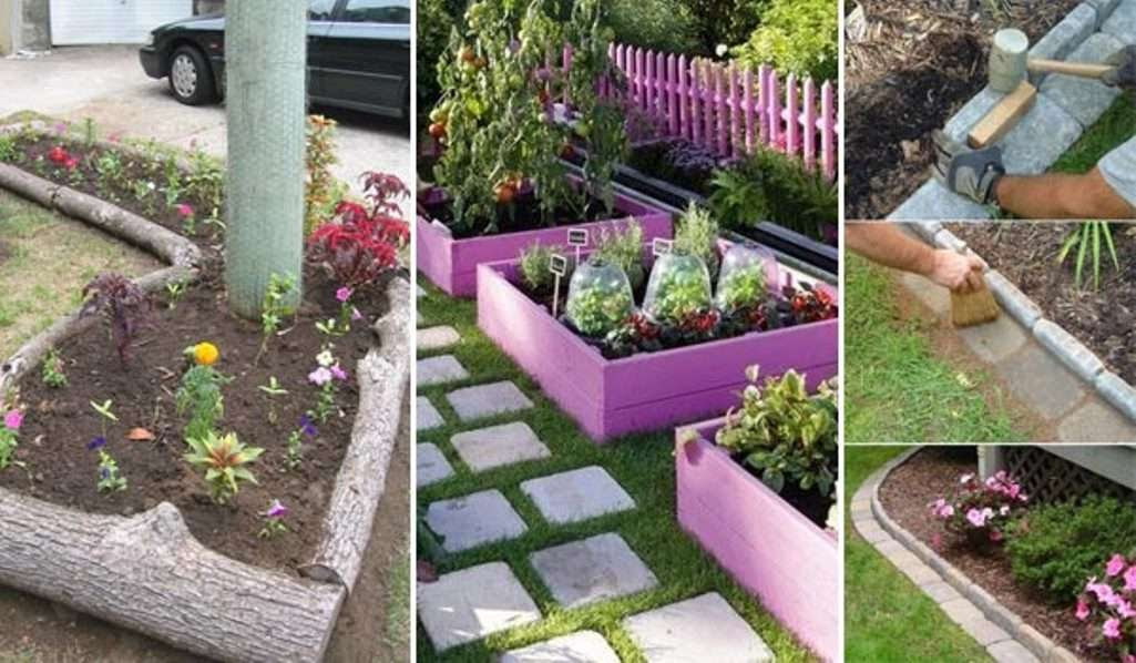 Get Inspired For Creative Cheap Garden Edging Ideas Images Home Decor S