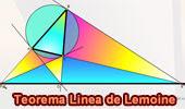 Teorema de la Linea de Lemoine.