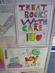 """I Love My Library 2007"" - Student Art works"
