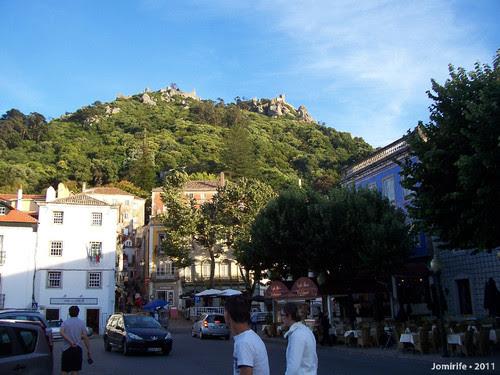 Sintra: Castelo dos Mouros vista das ruas