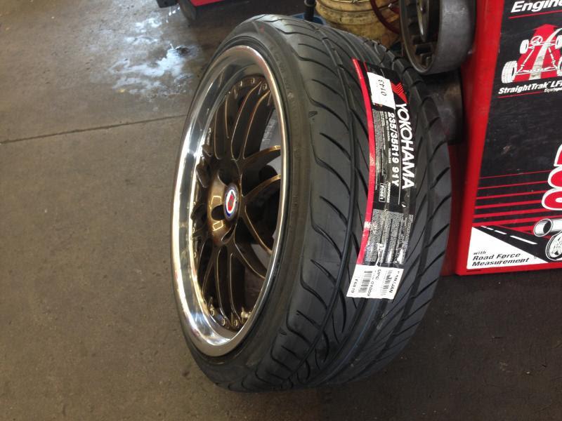 Forum Review Yokohama S Drive Tires Photos Impression Audiforums Com