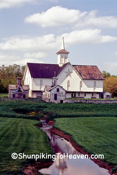 The Star Barn Complex, Built 1872, Dauphin County, Pennsylvania
