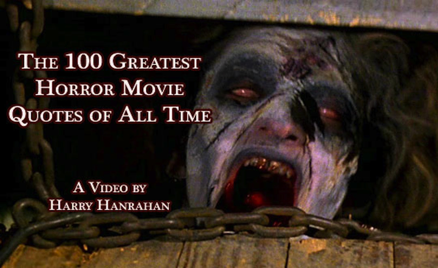 100 Greatest Horror Movie Quotes of all Time