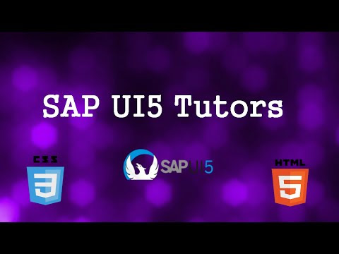 SAPUI5 Application Project Structuring