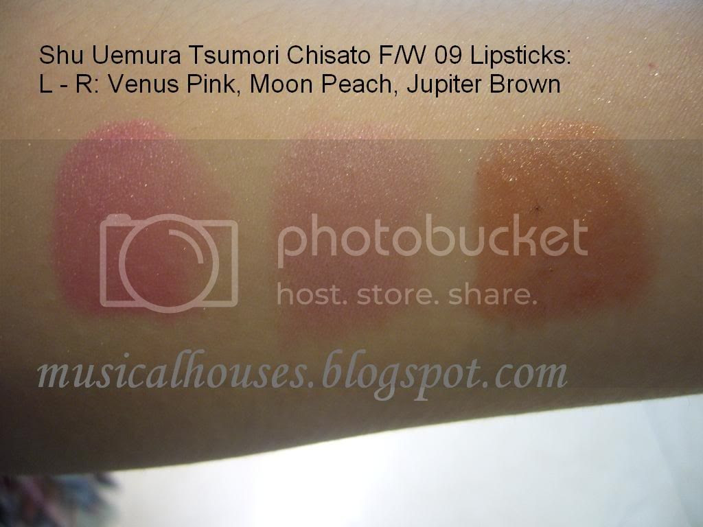 Shu Uemura Tsumori Chisato Lipsticks