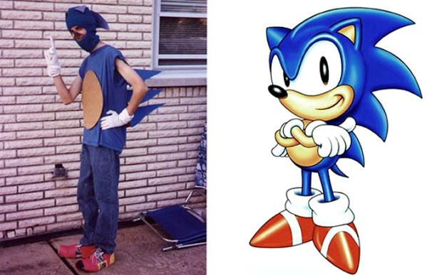 Cosplay de Sonic (Foto: Reprodução)
