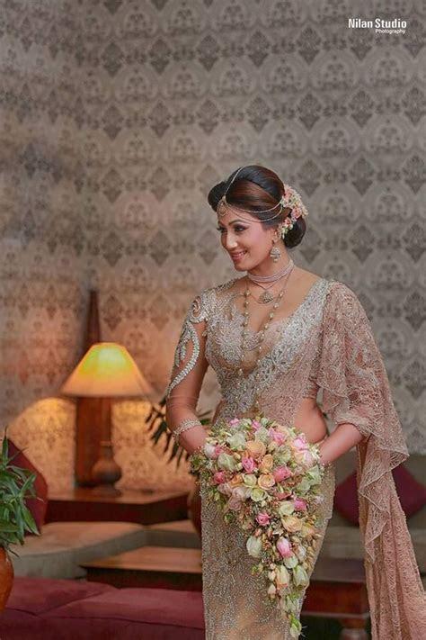 Modern kandiyan bridal for Sasani by Salon Bonitha   Saree