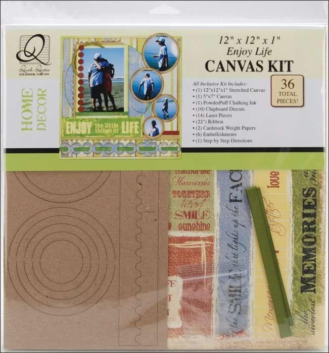 Scrapbook Canvas Quick Quotes Kits. QuotesGram