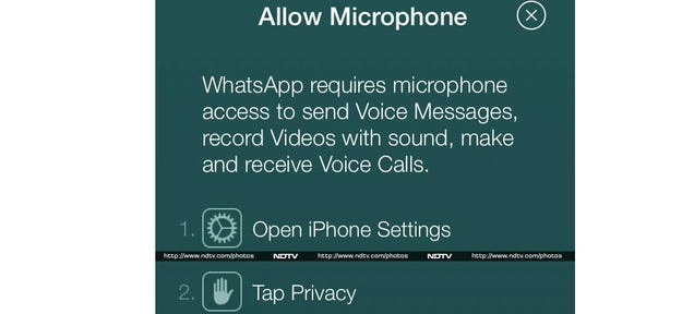 Voice Calling Spotted in the Latest Version of Whatsapp on iOS