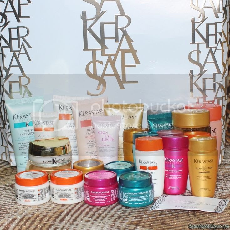 Review and contents of the Keratase Advent Calendar 2015, a treat for the hair!