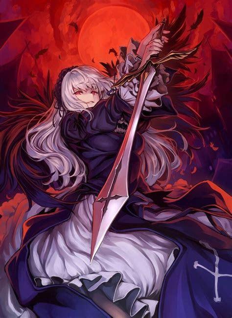 suigintou rozen maiden rozen maiden anime anime art