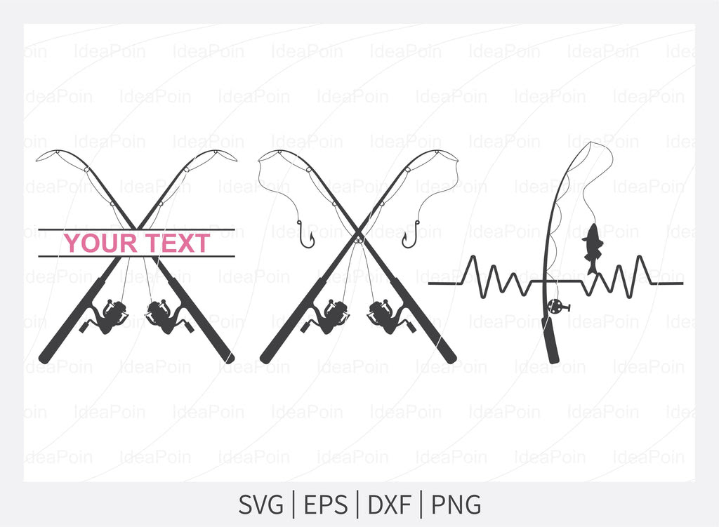 Download Fishing Rod Silhouette Svg Fishing Rod Svg Fishing Rod Clipart Fishing Pole Svg Fishing Hook Svg Fishing Cricut Png Svg Eps Dxf So Fontsy