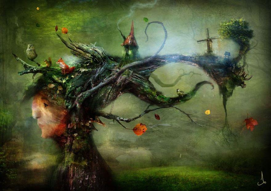 Alexander Jansson illustration fairytale15