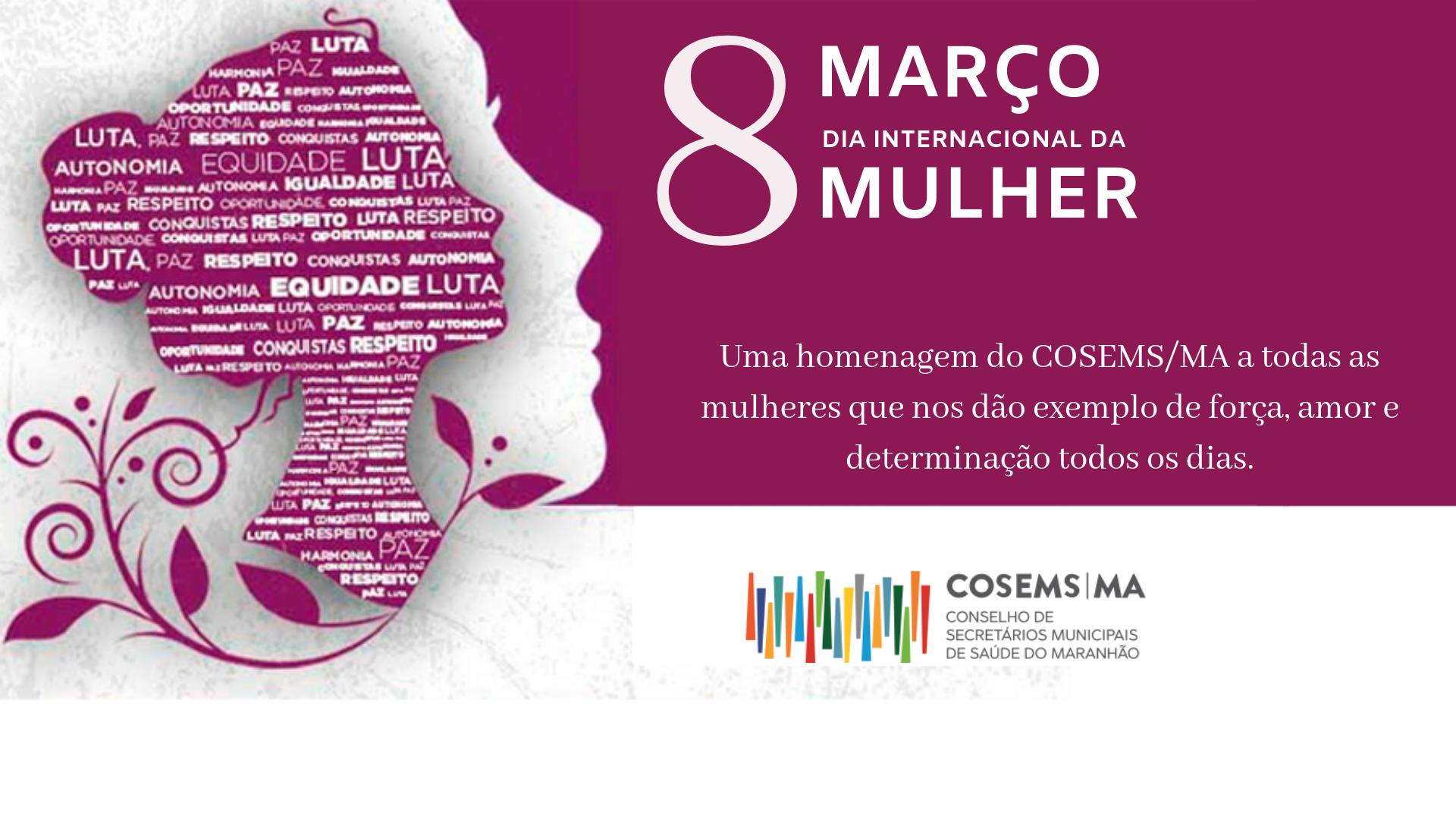 Dia Internacional Da Mulher Cosems Ma