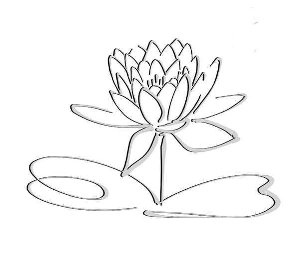 Lotus Logo Black Grayshadow Flower Only Free Images At Clker Com