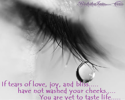 Tears Of Joy Quotes Pictures Experience Of Life Inspirational