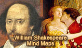 William Shakespeare Mind Maps, English as a Second Language (ESL).