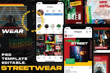 Download Mockup Feed Insta Yellowimages