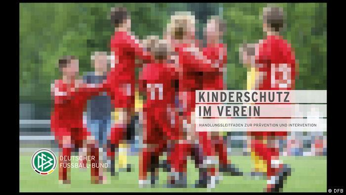 Portada del manual de comportamiento en el fútbol infantil de la Federación Alemana de Fútbol.