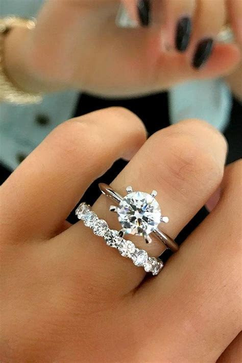 24 Excellent Wedding Ring Sets For Beautiful Women   Oh So