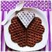 Waffel cioccolato cardamomo