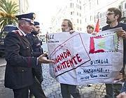 Il flashmob alla Banca d'Italia di lunedì scorso (Jpeg)