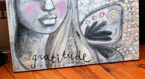 Gratitude - detail