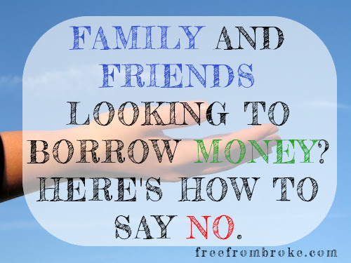 Diplomatically Say No To Friends And Family That Want To Borrow
