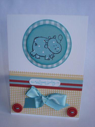 Baby boy card 1