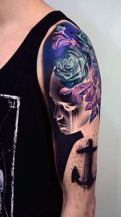 inverted tattoo designs  men  ink ideas