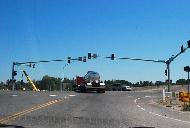 SR 124 @ US 12 westward